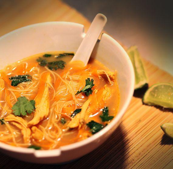 Soupe thaïlandaise à la dinde signée Max LAffamé