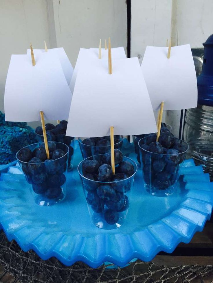 Moby Dick/Whale Birthday Party Ideas | Photo 1 of 19