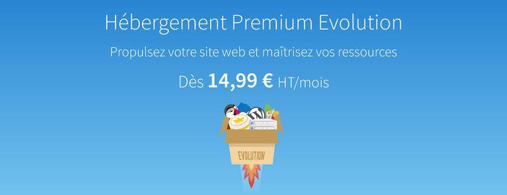 Pack d'hébergement Premium Evolution