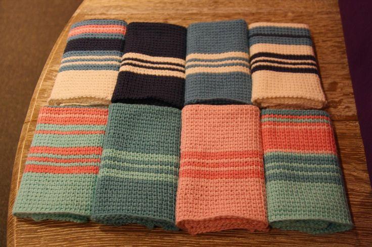 Hakking, Tunisian crochet, kjøkkenkluter