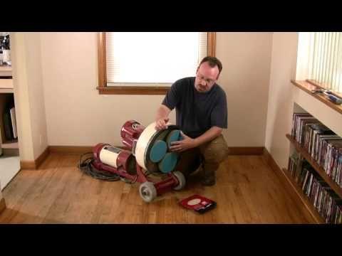 How to Refinish Hardwood Floors - YouTube