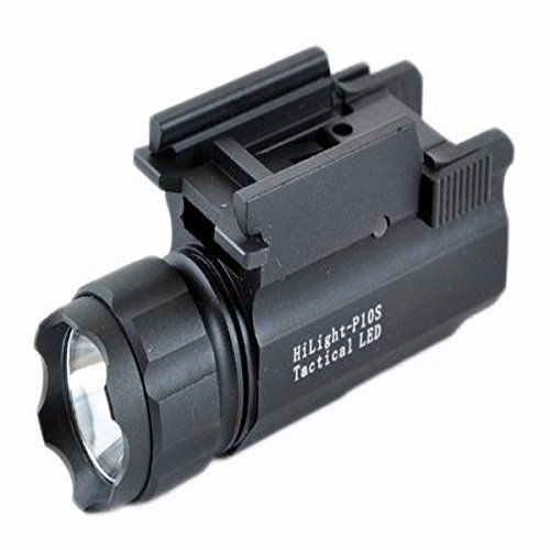 Aimkon HiLight P10S 400 Lumen Pistol LED Strobe Flashlight with Weaver Quick Release -- To view further for this item, visit the image link.