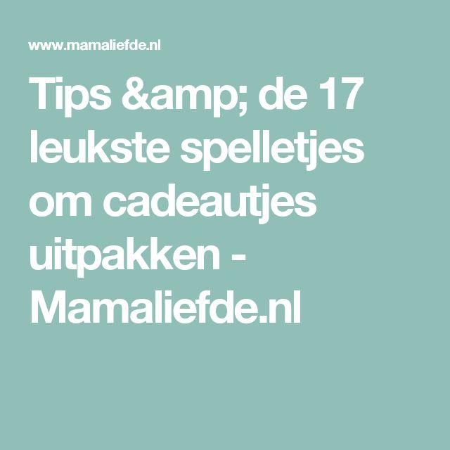 Tips & de 17 leukste spelletjes om cadeautjes uitpakken - Mamaliefde.nl