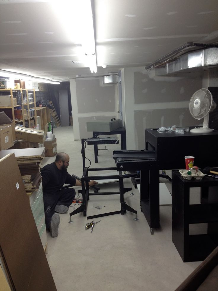 when it all started... #screenprinting #office #work