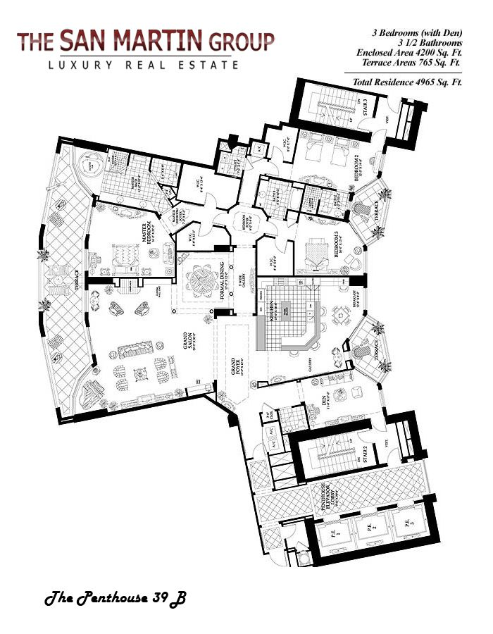 1000 ideas about condo floor plans on pinterest condos for Luxury estate floor plans