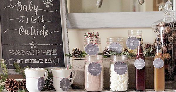9 Tips for Throwing a Chic Winter Engagement Party http://www.brides.com/blogs/aisle-say/2016/01/9-winter-engagement-party-ideas.html