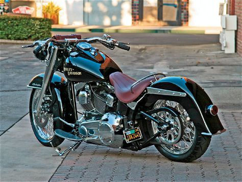 Oh, 2007 Harley Davidson Deluxe - How do I love thee?  Let me count the ways...