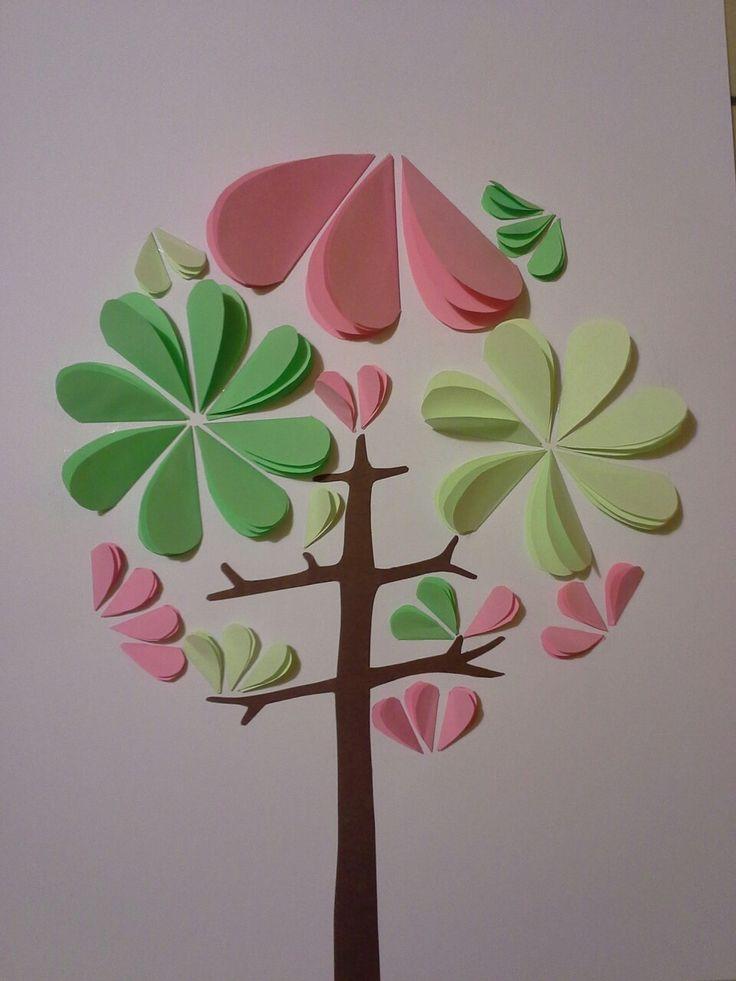 Rozkvetlý strom.