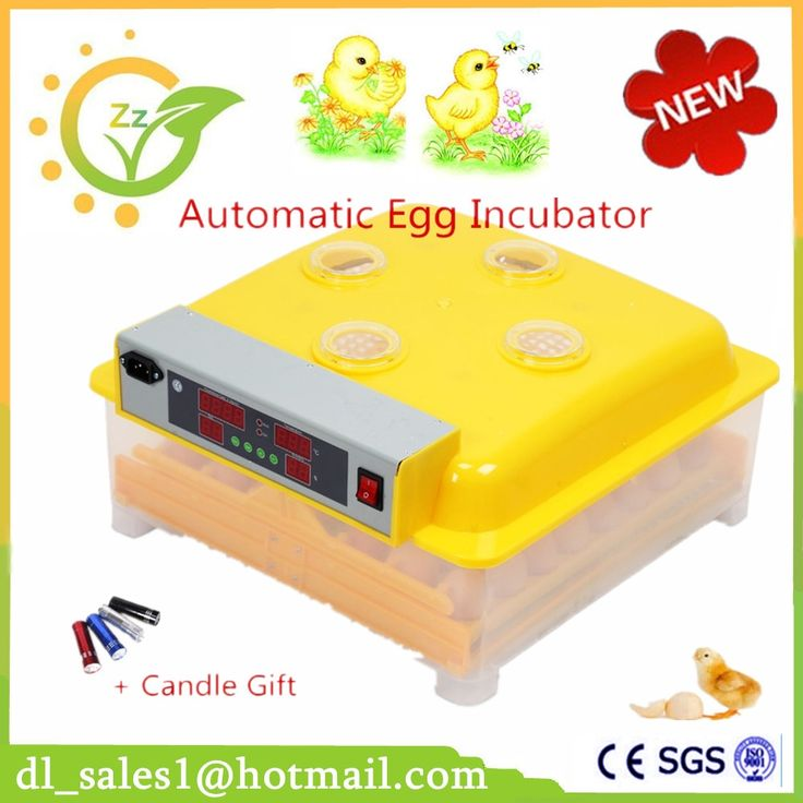 (88.96$)  Watch here  - 1 Piece Digital Control 48 Egg Incubator Automatic Turning Chicken Quail poultry Hatchery Machine
