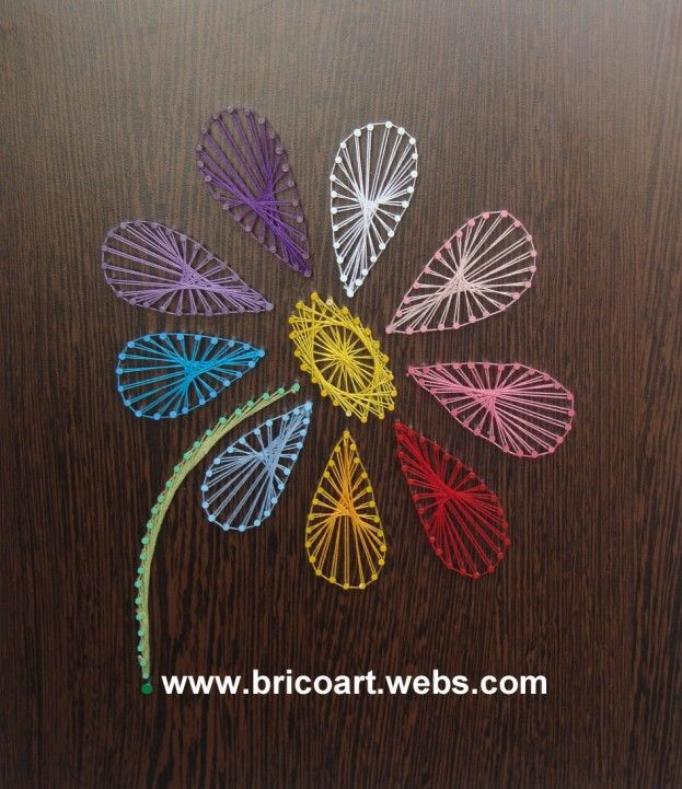 String art tsa165 string art bricolage projects to for String craft patterns