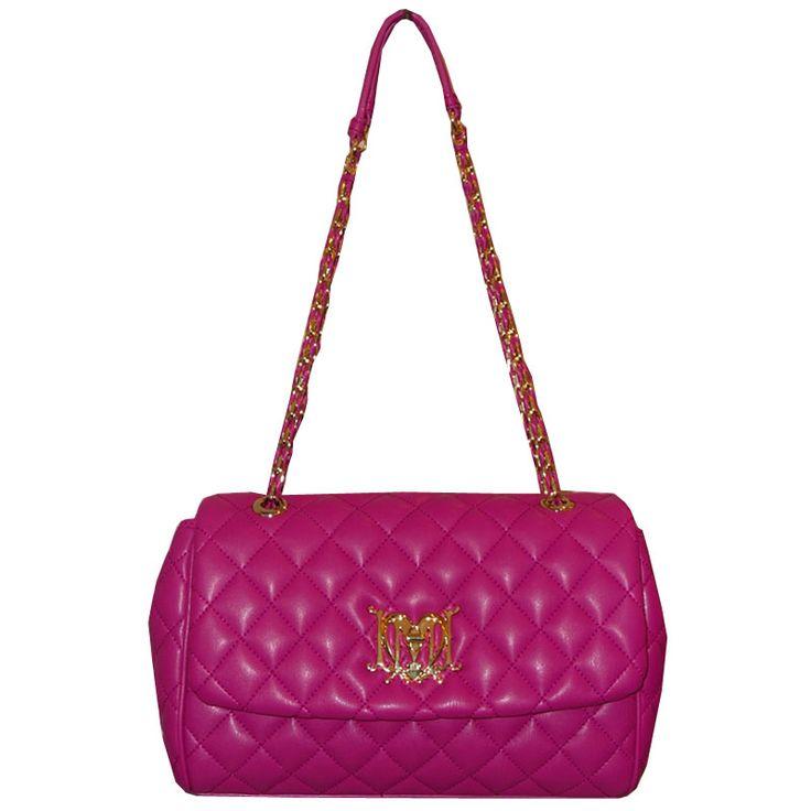 Love Moschino Pink Quilted handbag at www.vogmoda.com