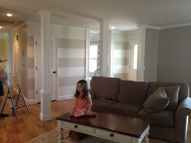 2 Colors Used In My Family Room Accessible Beige And Aesthetic White By Sherwin Williams