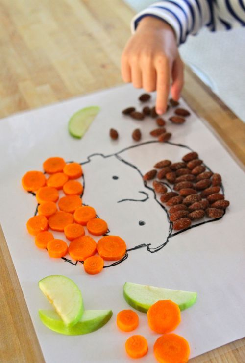 Cute: Free printable for DIY Snack-time Placemats at @designmom