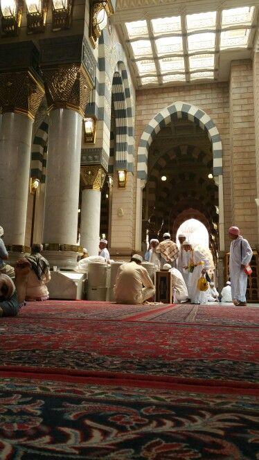 Madinah#masjid-e-nabawi#inside#worlds most peaceful place#