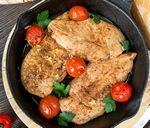 Быстрое куриное филе с бальзамическим уксусом