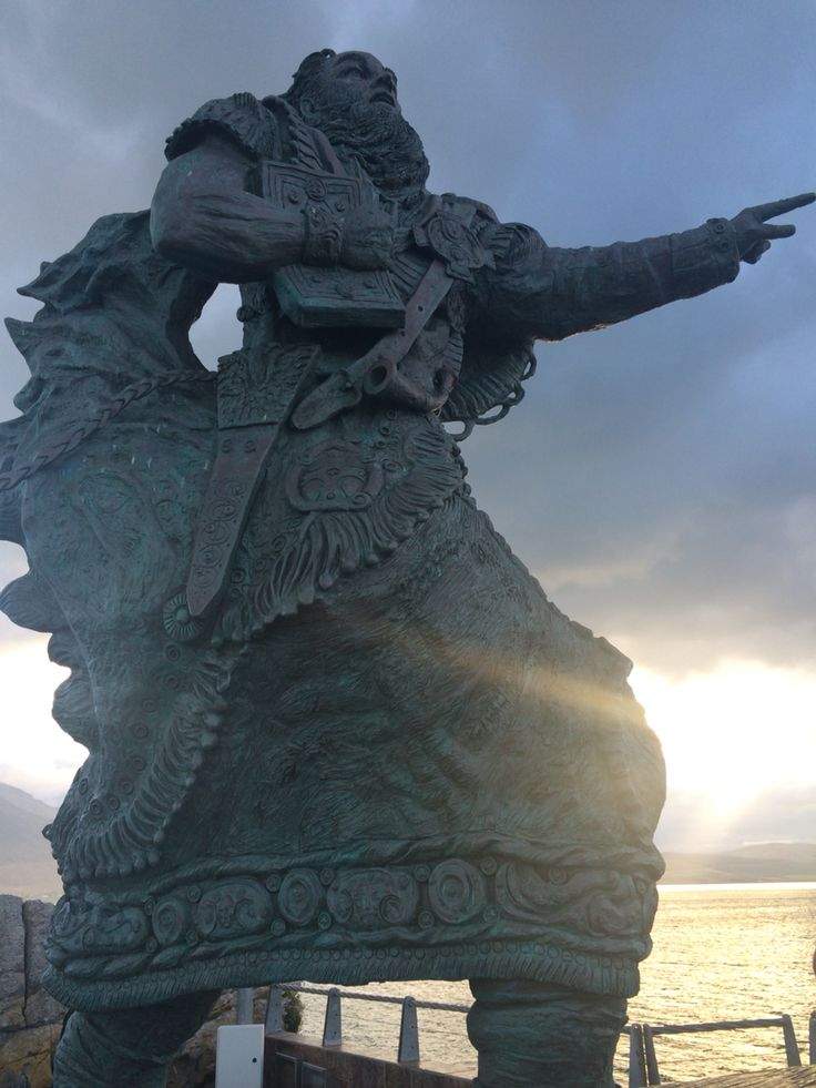 Saint Brendan.  Fenit pier, Co.Kerry