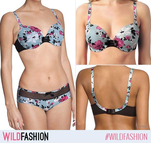 O ținută sexy nu e definită doar de ceea ce se vede pe tine, ci și de încrederea pe care o afișezi în fața celorlalți. Ieși din monotonie atunci când îți alegi lenjeria și optează pentru ceva colorat. Recomandarea noastră? Printurile florale! #wildfashion #wldsexy  Recomandarea de azi: http://www.wildfashion.ro/haine/brands/triumph/sutiene/tph658-sutien-elegant-cu-imprimeu-floral?utm_content=buffer47b2d&utm_medium=social&utm_source=pinterest.com&utm_campaign=buffer  Like dacă e pe gustul…