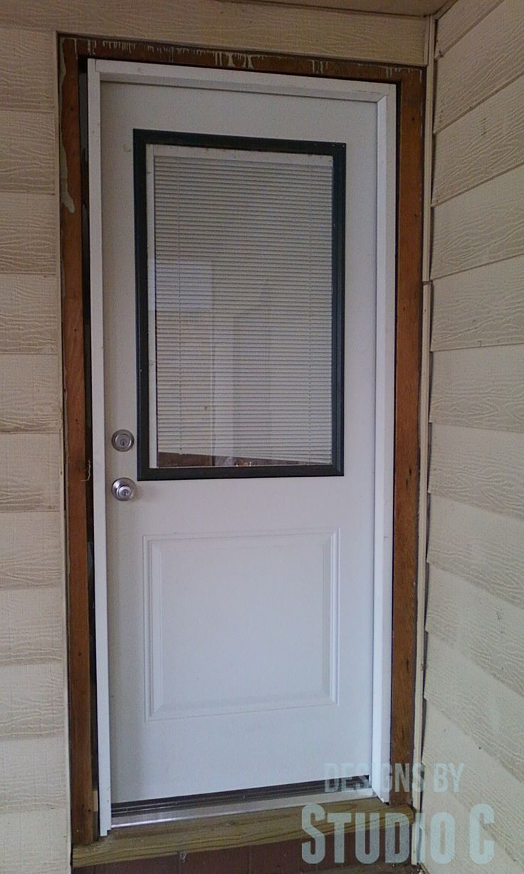 windows above exterior doors - Exterior Fiberglass Doors