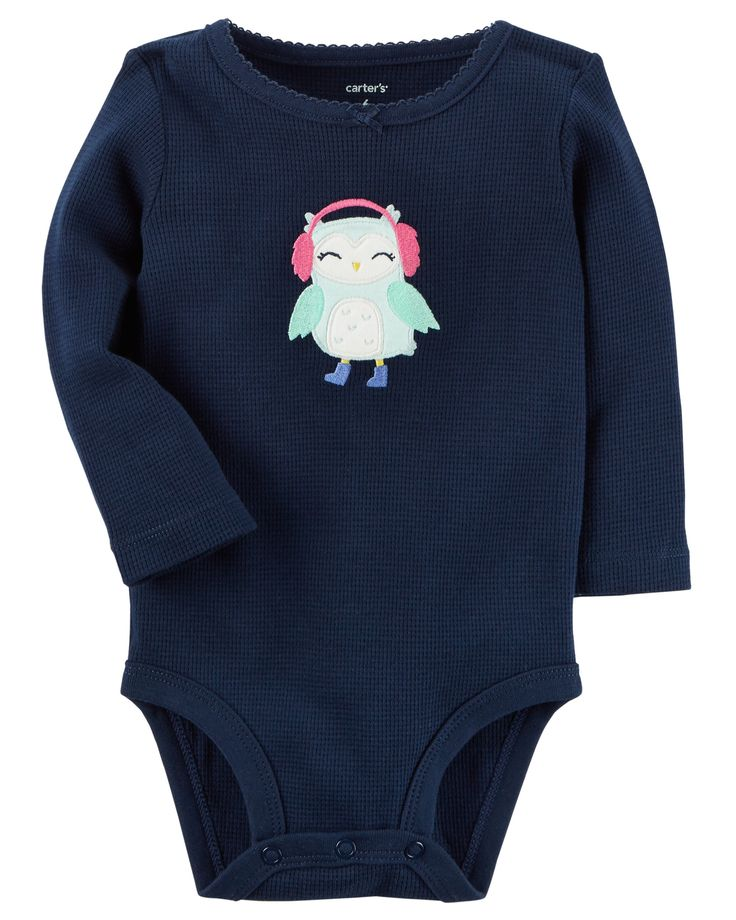 Thermal Character Bodysuit | Carters baby girls, Bodysuit ...
