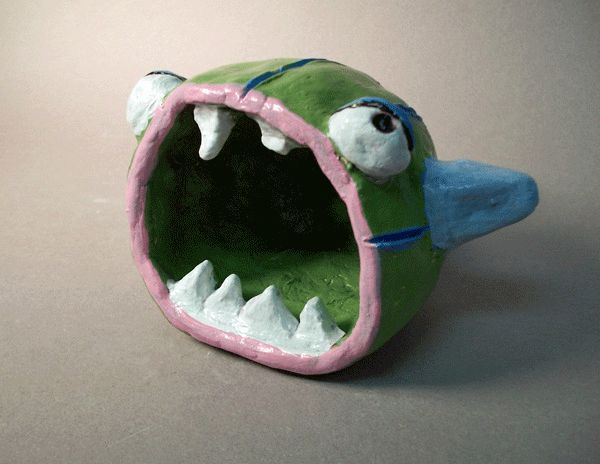 32 best images about clay fish on pinterest ceramics for Clay pot fish