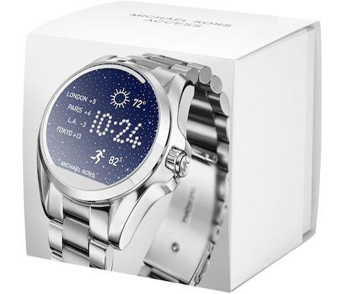 Michael Kors lanza su Primer Reloj Inteligente al Retail