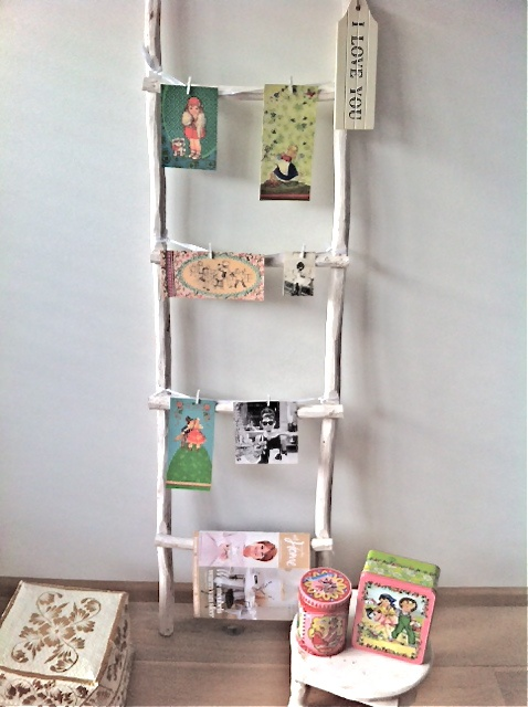 1000+ images about deco ladder on Pinterest  Decorative ladders ...