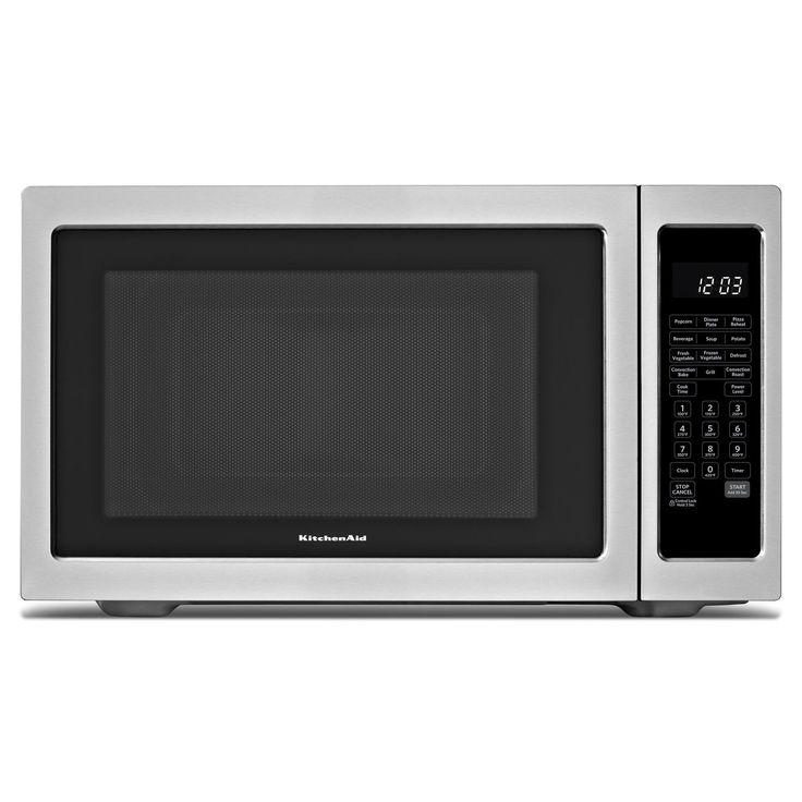KitchenAid® 1200−Watt Countertop Convection Microwave Oven: Whirlpool® Inside Pass