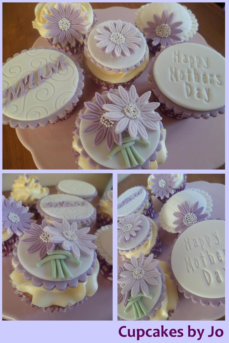 Very pretty mothers day cupcakes.