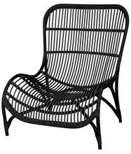 Malibu relax outdoor chair black
