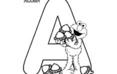 A is for Acorn Elmo Coloring Page: www.sproutonline.com/printables/acorn-elmo-coloring-page