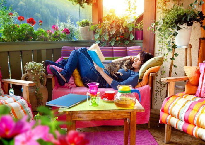 Deko im Outdoor-Bereich für vollsten Komfort auf Balkon und Terrasse