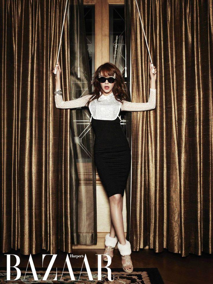 Kim Ah Joong Harper's Bazaar Korea Magazine December Issue '12