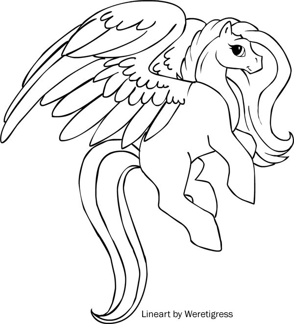 Free Coloring Pages Unicorn 110 Best Realistic Pegasus