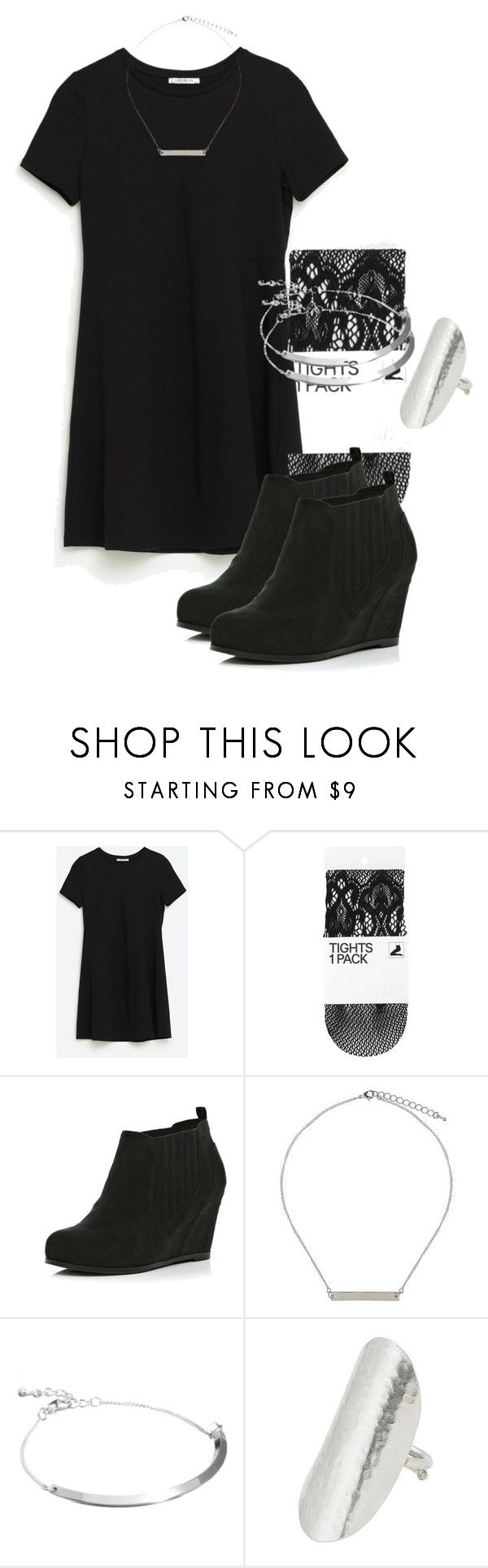 Allison Argent Outfit by zoegeorgiou2001 on Polyvore featuring H&M, River Island, People Tree, ASOS and Topshop