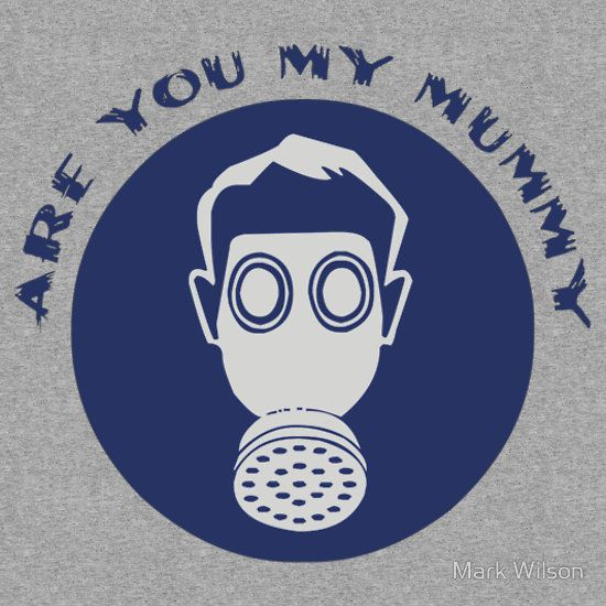 """Are You My Mummy? - Doctor Who The Empty Child"" Kids Clothes by Mark Wilson 