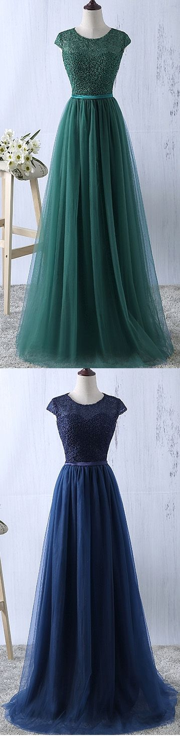 Modest -  Prom shopping is alive and well on Pinterest. Compare prices for this @ Wrhel.com before you commit to buy. #Prom