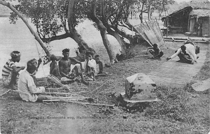De Griseescheweg Soerabaja 1900.