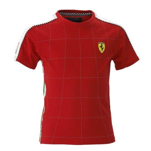 Kids Ferrari Shield #ferrari #ferraristore #tshirt #kids #infant #baby #cavallinorampante #prancinghorse #style #comfort #rossoferrari #redmaranello #style #comfort
