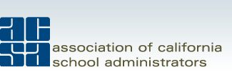 ACSA Members to Lead Statewide Task Force on Special Education FOR IMMEDIATE RELEASE Dec. 4, 2013 Contact: Julie White, jwhite@acsa.org , (916) 329-3832