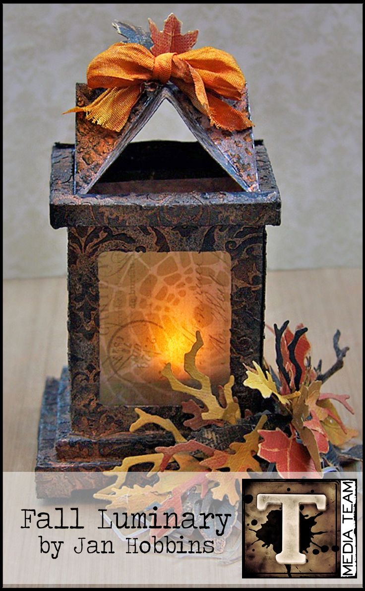Fall Luminary by Jan Hobbins | www.timholtz.com