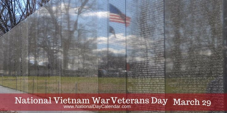 .S. Sens. Pat Toomey, R-Pa., and Joe Donnelly, D-Ind., introduced legislation in 2017 to honor Vietnam Veterans with a day on the anniversary of the withdrawal of military units from South Vietnam.  President Donald Trump signed the Vietnam War Veterans Day Act on March 28, 2017, calling for U.S. flags to be flown on March 29 for those who served.
