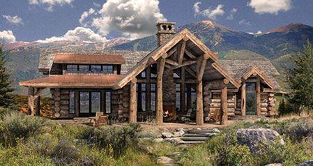 Log Home Plans Precisioncraft Log Homes Timber Frame