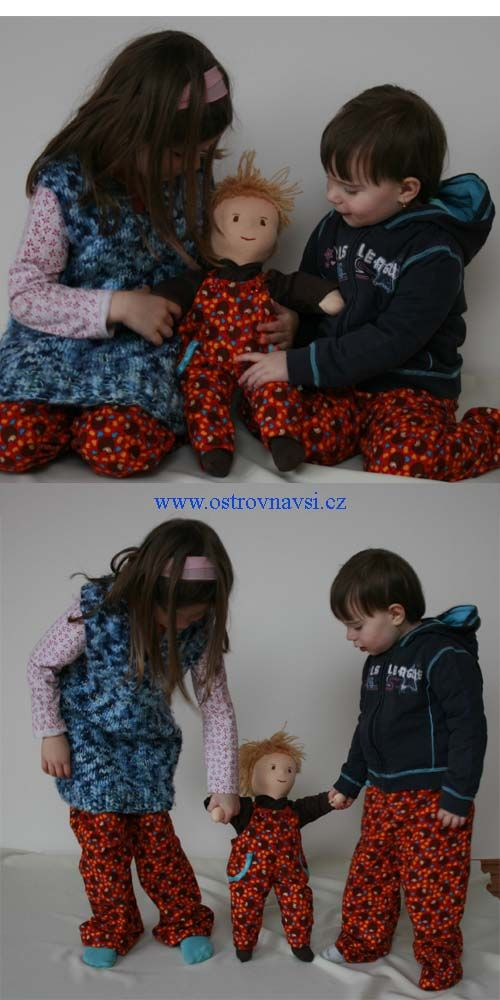 Oblečení pro děti a panenky