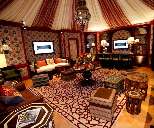 What a tent should look like on the inside to get me to go for Arabic living room decoration