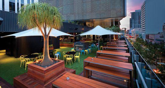 The Aviary rooftop bar & restaurant Perth City