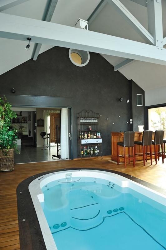 Les 25 meilleures id es concernant spa nage sur pinterest spa de nage pisc - Spa de nage interieur ...