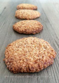 Kokos-Cashew-Kekse: paleo, vegane, glutenfreie, laktosefreie kleine Kostbarkeiten | Essen mit Gefühl