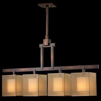 Fine Art Lamps Quadralli 330540ST Four-Bulb Pendant | 330540ST