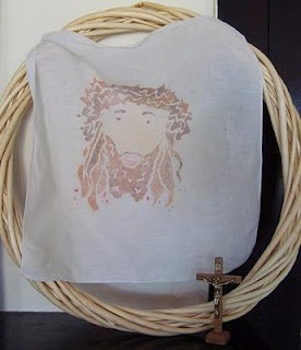 Catholic St. Veronica Craft - perfect for my confirmation!!