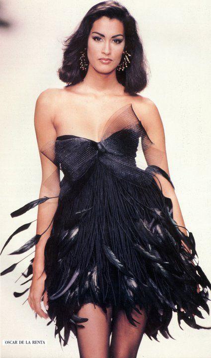 Yasmeen for Oscar De La Renta, 1992